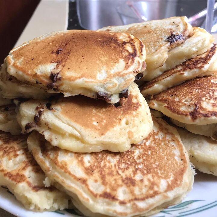 fluffy sunday morning pancakes