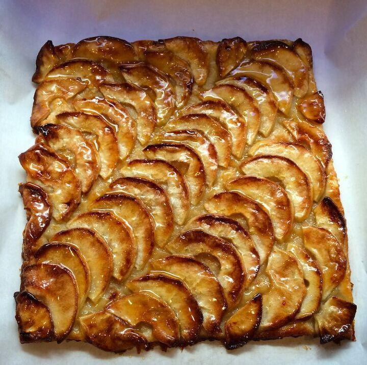 easy puff pastry apple tart