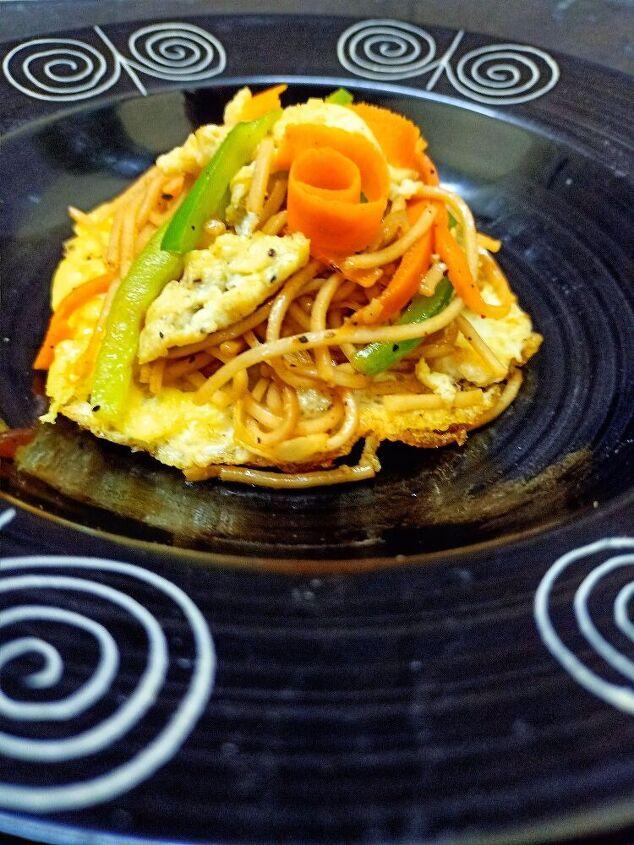 post, Egg Whole Wheat Noodles