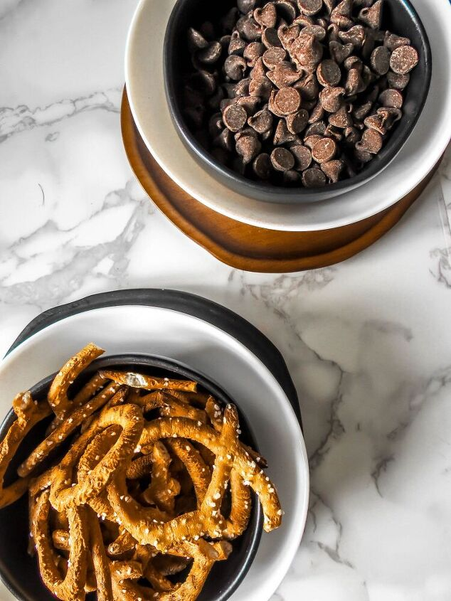 take 5 twists, classic sweet and salty ingredients