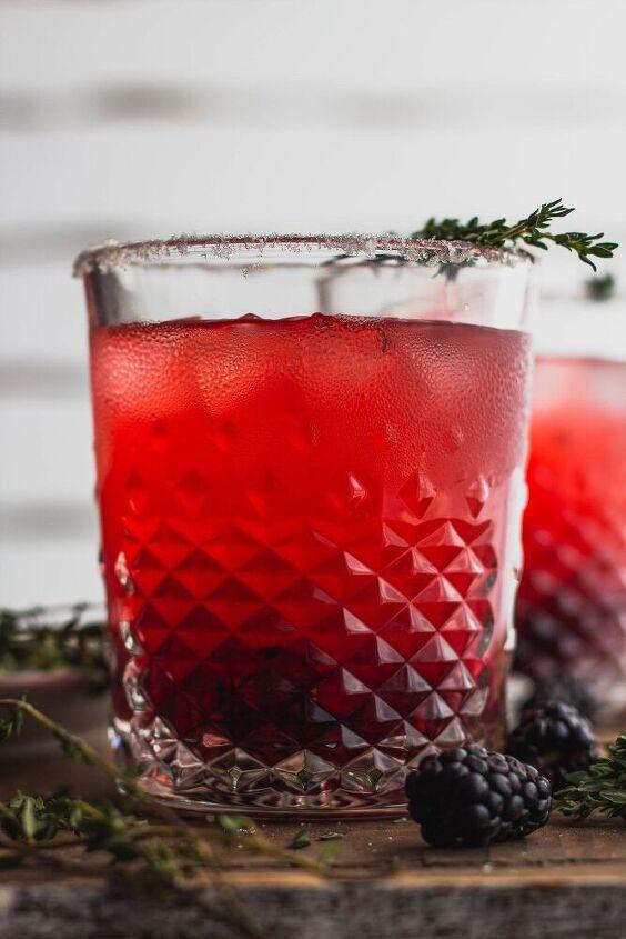 blackberry tequila lemonade