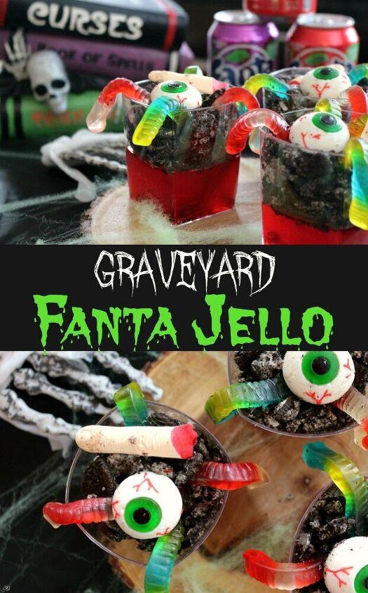 halloween graveyard jello