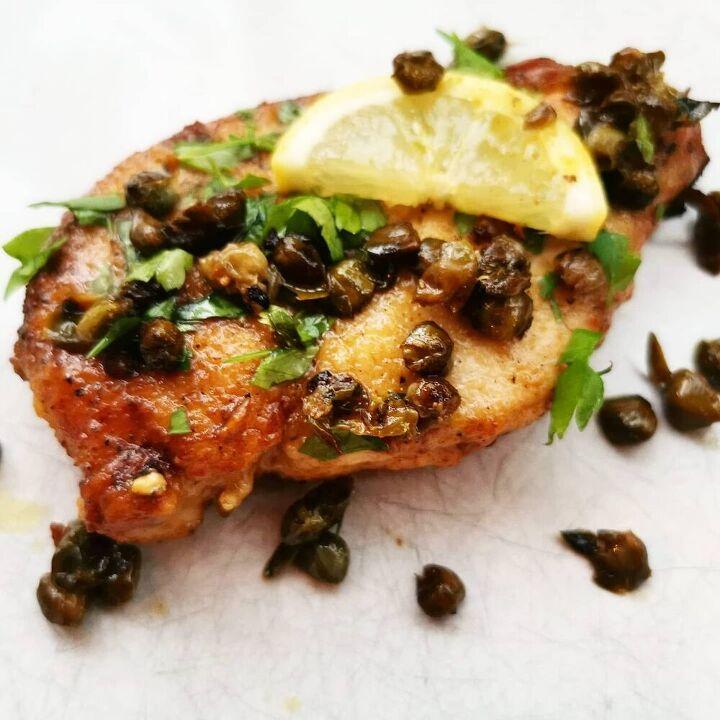garlic chicken piccata
