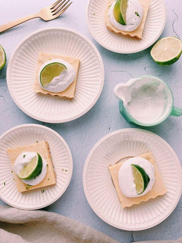 mango cream frozen tart no bake dairy free