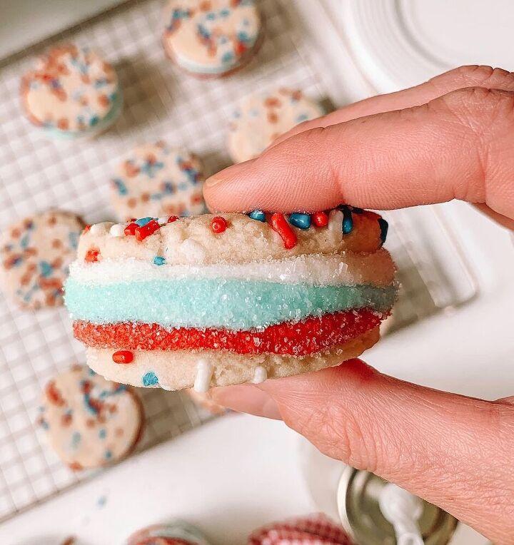 sugar cookie sandwiches