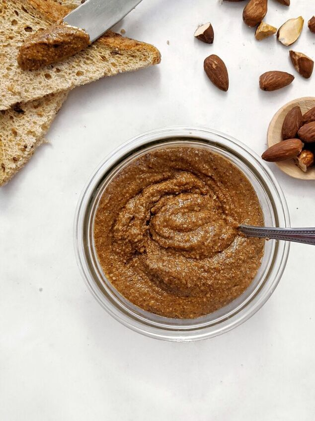 homemade creamy roasted almond butter no oil