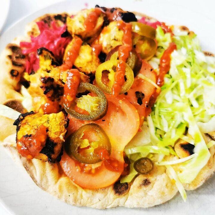 chicken tikka kebabs