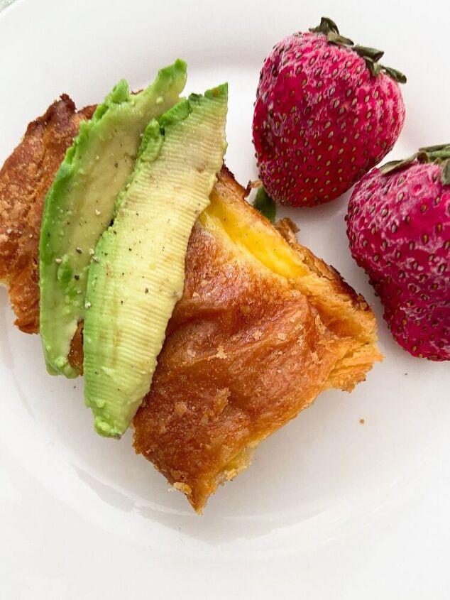 breakfast croissant bake