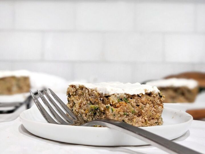 spiced zucchini cake with cream cheese frosting gluten free