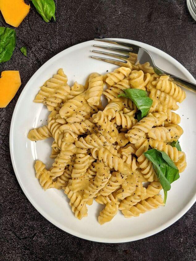 cream less creamy butternut squash pasta