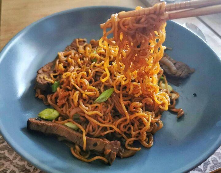 spicy korean beef noodles