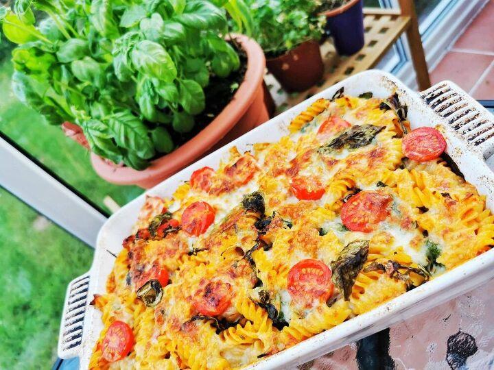 fennel sausage arugula pasta bake