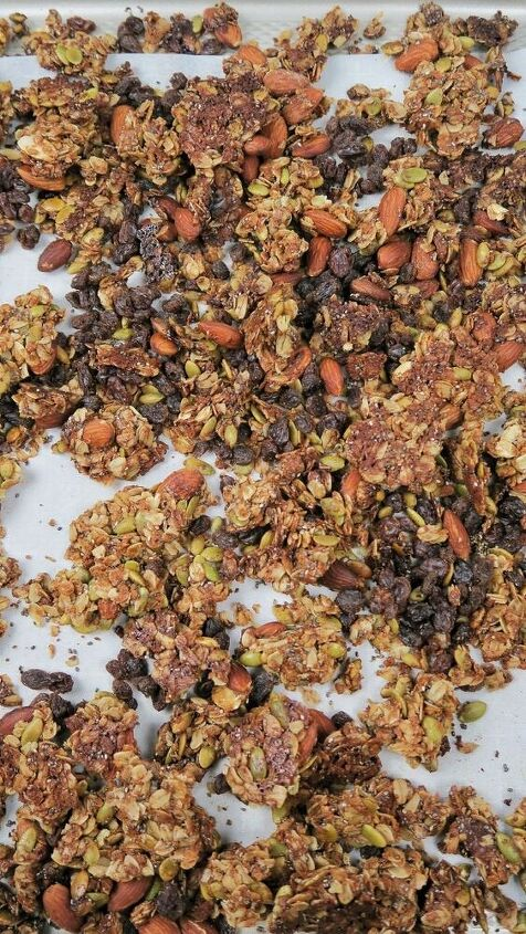 healthy homemade protein gluten free granola