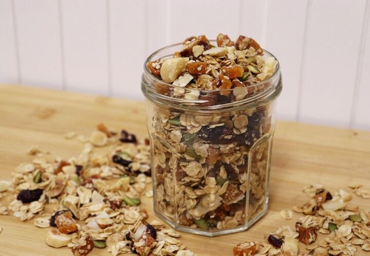 home baked granola