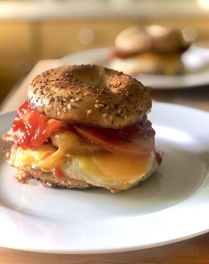 breakfast bagel from heaven