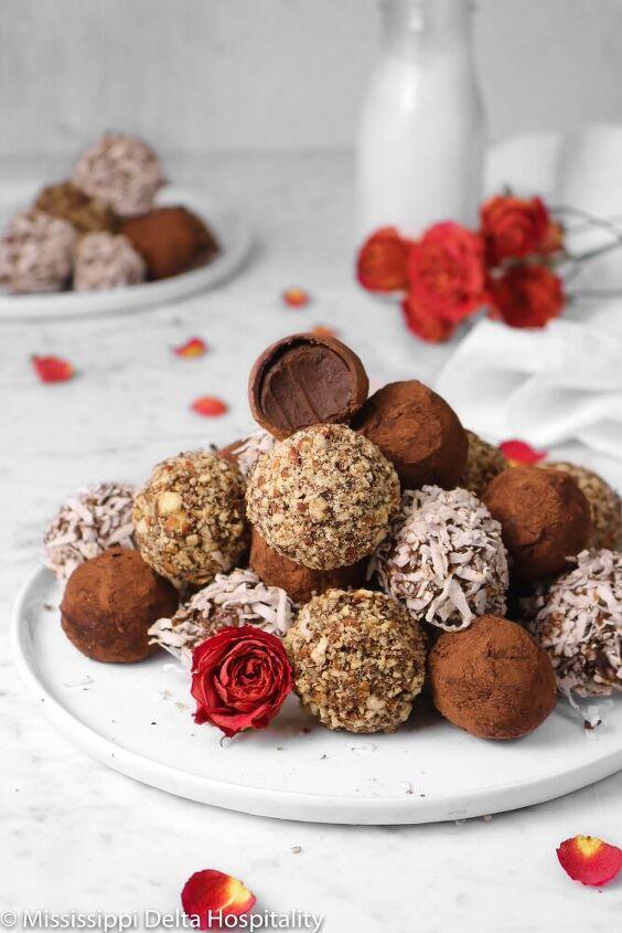 easy dark chocolate truffles