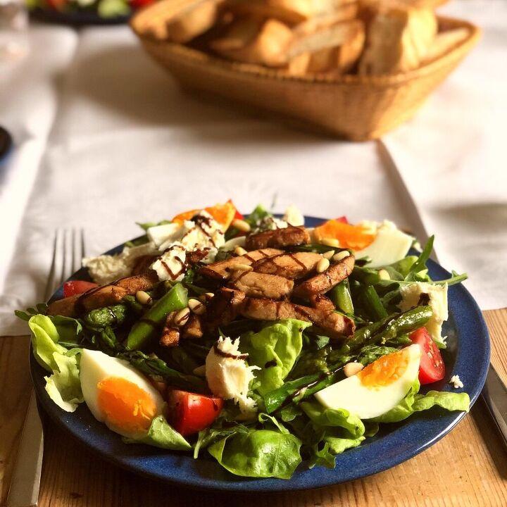 healthy and delicious farmhouse salad