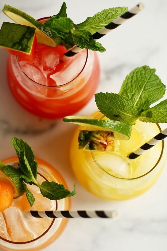 simple and refreshing aguas frescas 3 flavors