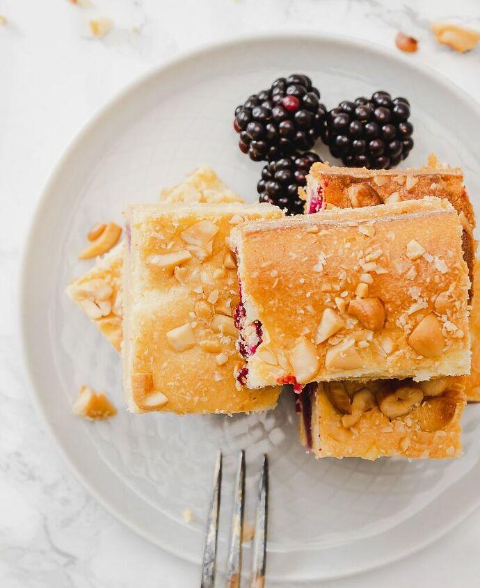 blackberry sheet pancake