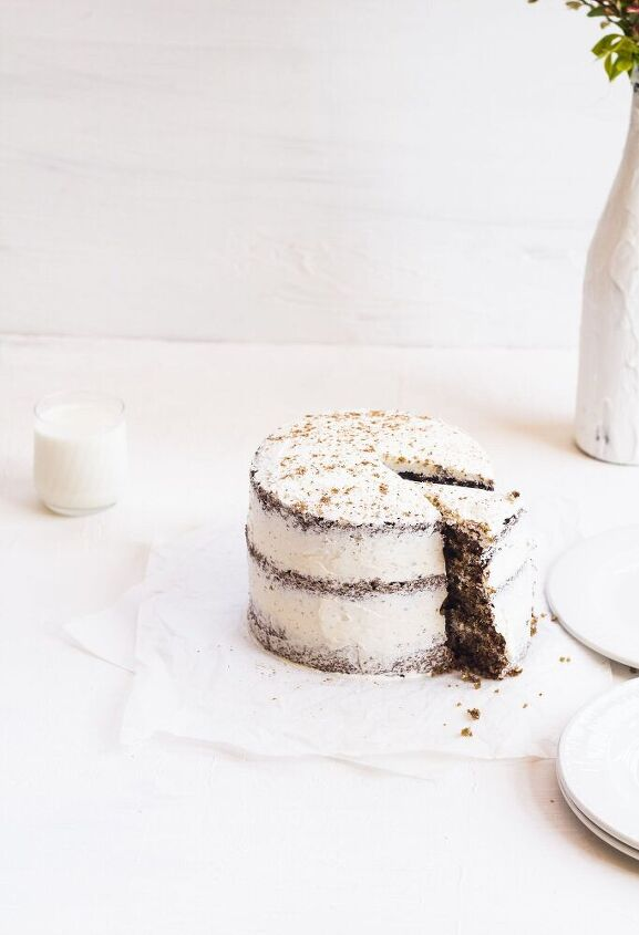 oat and spice layer cake recipe