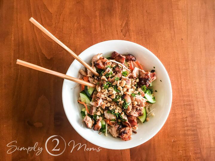 low carb vietnamese noodle bowls