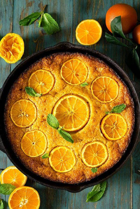 greek skillet orange fillo cake portokalopita