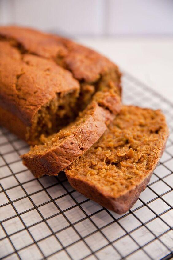 orange molasses zucchini bread or muffins