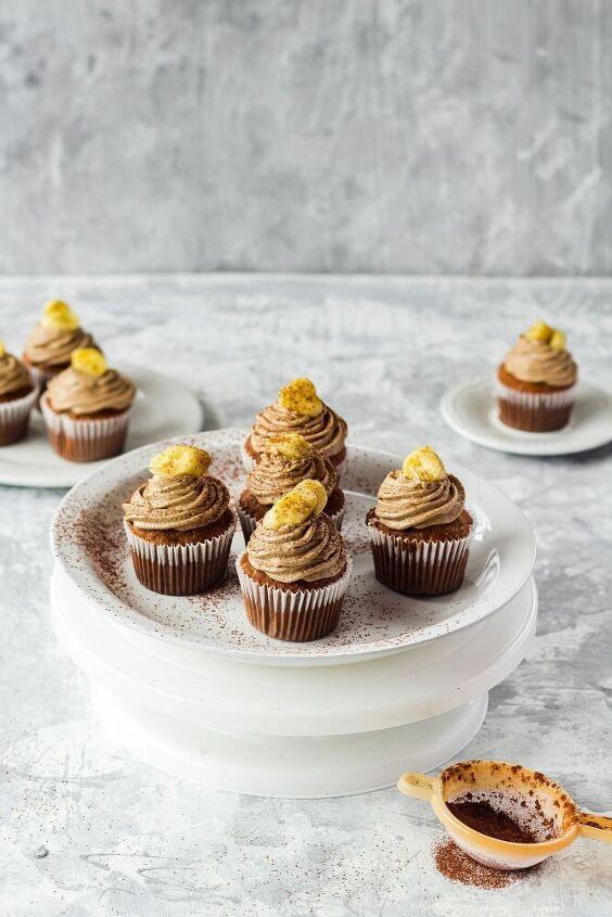 banana and brown sugar cupcakes