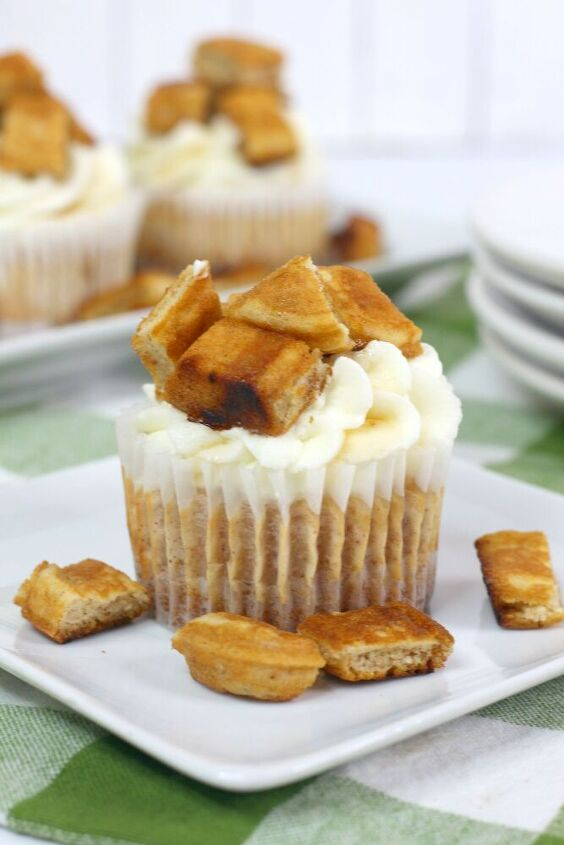 French Toast Individual Cheesecakes