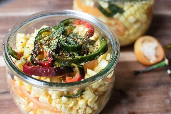 pickled sweet corn