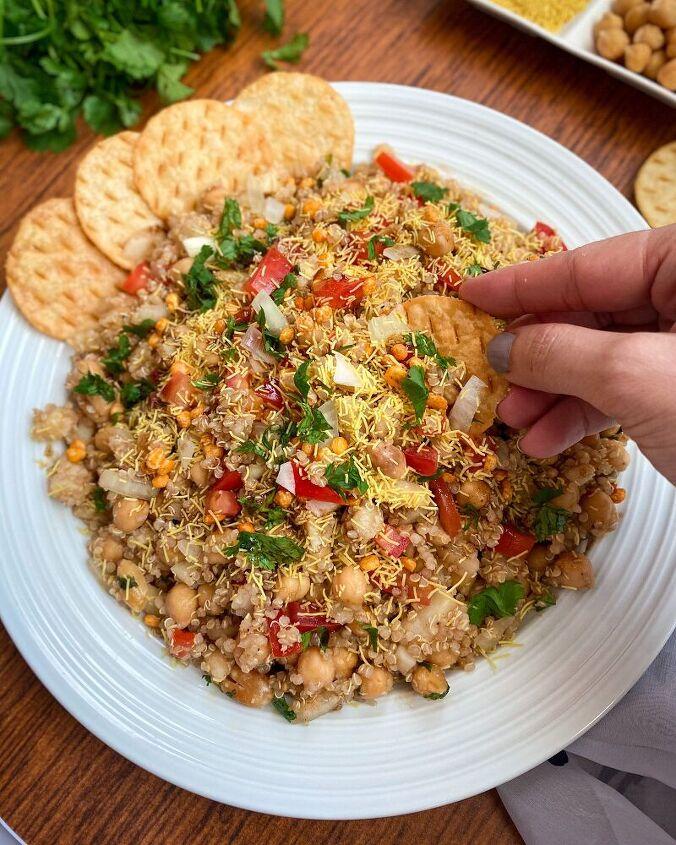 quinoa chaat