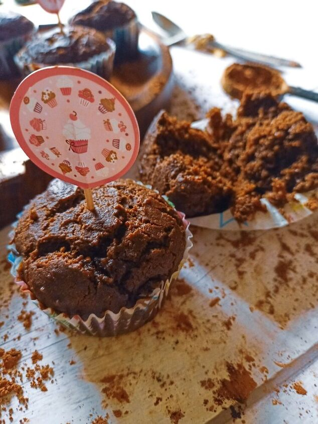eggless chocolate muffins healthy version