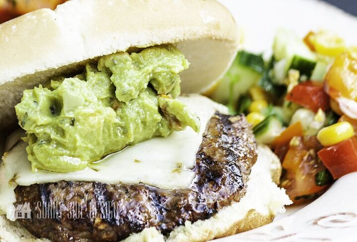 chipotle spiced burger