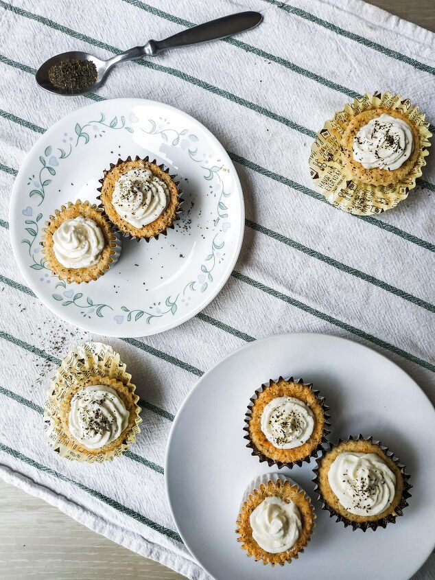 tea angel food cupcakes