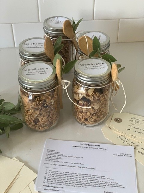 homemade granola as you like it