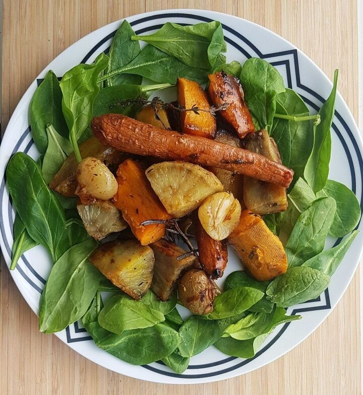 baked harvest vegetables