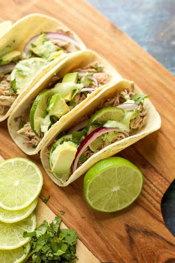 s 13 recipes to spice up taco tuesday dinners, Instant Pot Pork Tacos