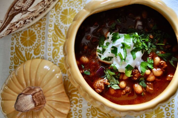 turkey chili with white beans