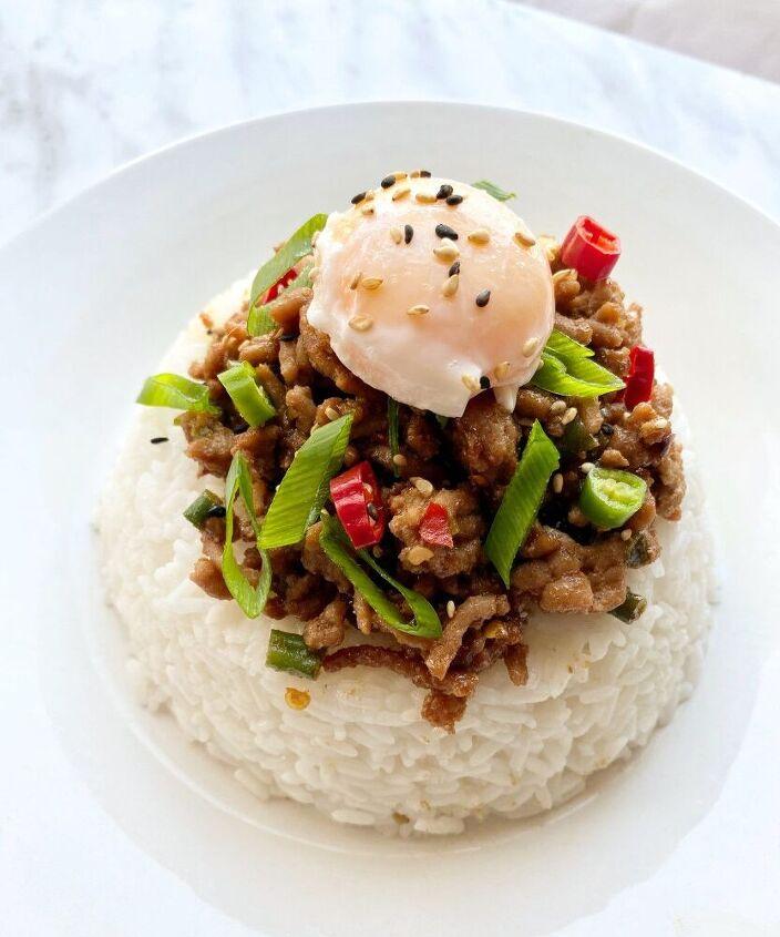 spicy thai basil dish