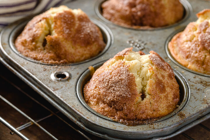 s 21 muffins recipes that will make an unbelievable breakfast, Cinnamon Muffins