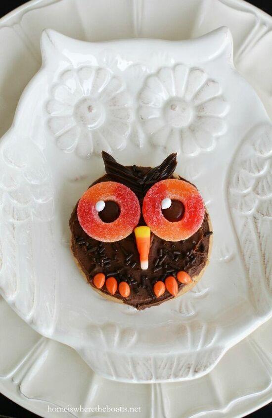 happy owl oween cookies
