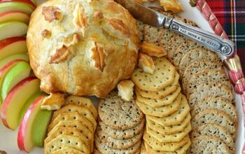 Puff Pastry Baked Brie With Cranberries