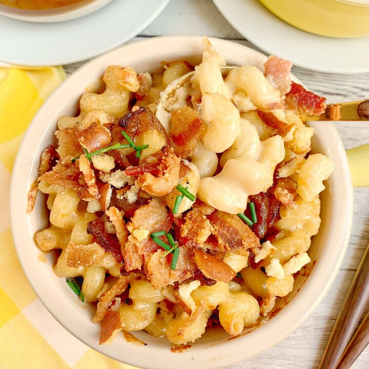 s 20 pasta recipes that the whole family will love, Bacon and Beer Mac and Cheese