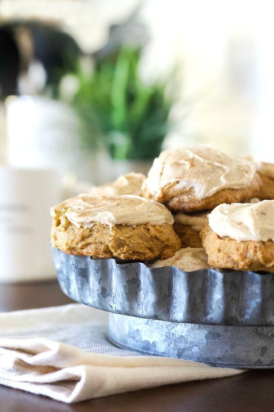 s 17 fall cookies that will make your home smell like autumn, Soft Pumpkin Cookies