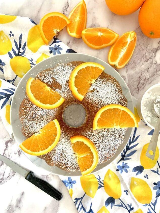 classic orange bundt cake