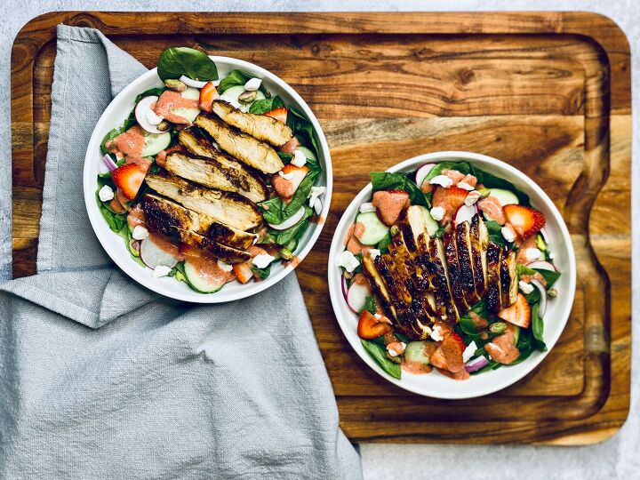 s 11 hearty salads that definitely work as a main, Strawberry Summer Salad