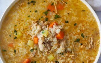 Canja De Galinha - Cape Verdean Chicken Soup Recipe