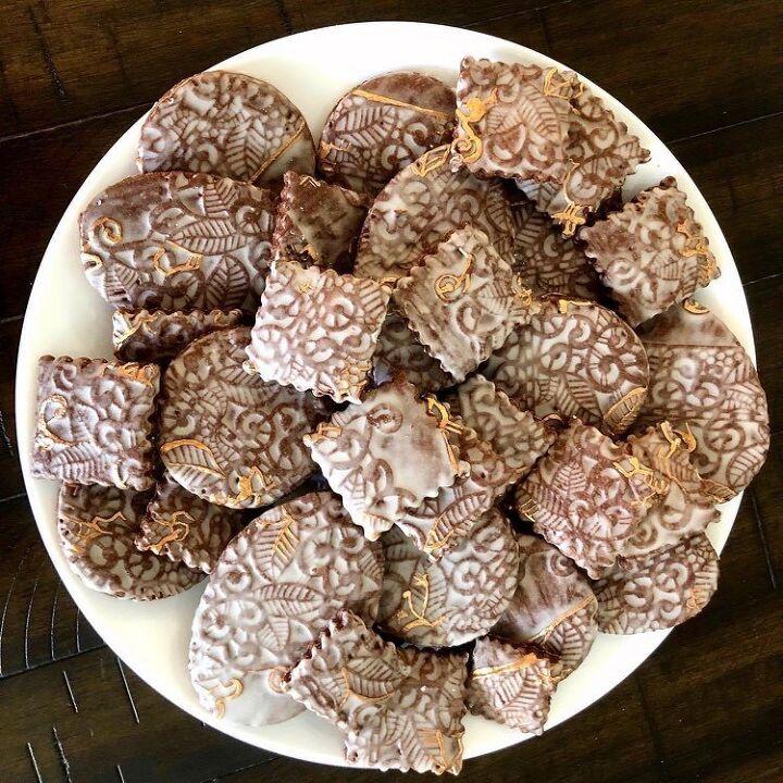chocolate bourbon sugar cookies