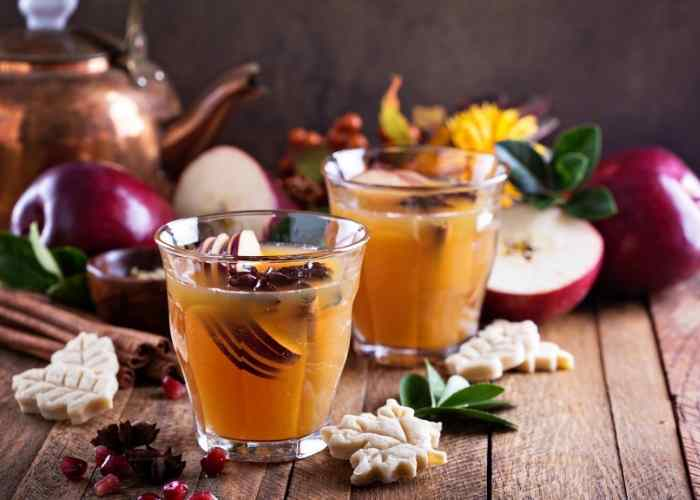 s 15 slow cooker recipes we re definitely trying this season, Easy Mulled Cider Recipe Slow Cooker