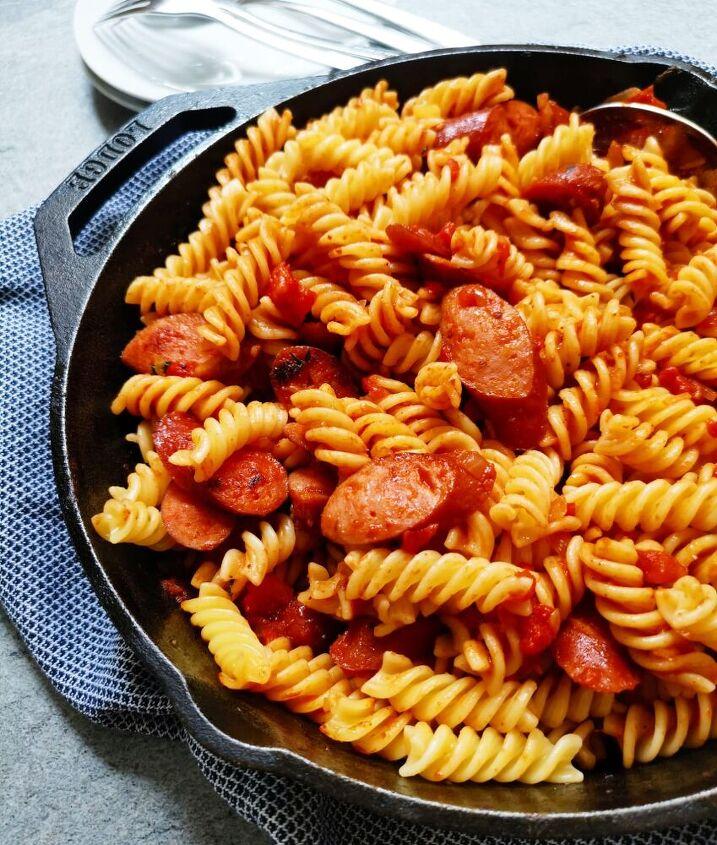 sausage skillet pasta